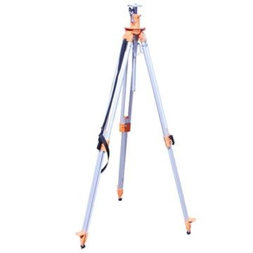 Bau Kurbelstativ 0,75 bis 2,00 m Alu Baustativ Nivellierstativ Laserkurbelstativ Nivellierkurbelstativ Baukurbelstativ Laserstativ Baustellenstativ Alustativ Baustellenstativ Vermessungsstativ Stativ für Rotationslaser Horizontallaser Nivelliergerät -