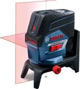 Bosch Professional GCL 2-50 C Kombilaser, Drehhalterung RM 2, Baustativ BT 150, horizontale und Vertikale Laserlinien, Schutztasche, 1 Stück, 0601066G02 -