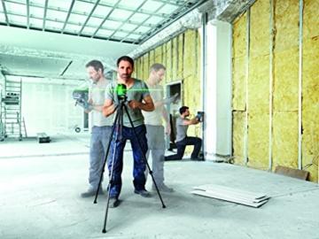 Bosch Professional GCL 2-50 CG Kombilaser, Drehhalterung, Deckenklemme, 1x 12V, 2Ah-Akku, L-Boxx, 1 Stück, 0601066H00 -