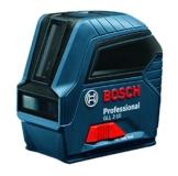 Bosch Professional Linienlaser GLL 2-10, Reichweite 10 M in Schutztasche, 1 Stück, 0601063L00 -