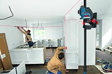 Bosch Professional Linienlaser GLL 3-80 P mit Schutztasche, 1 Stück, 0601063305 -