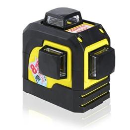 Firecore 3D Laser Level kreuz-linienlaser selbstjustierend 3 * 360 horizontale und vertikale Cross Line Laser -