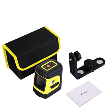 Firecore Tools Cross Line Laser Level Nivellierer Niveauregulierung mit L Halterung … -