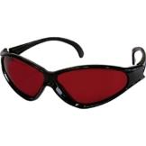 Laser-Sichtbrille rot -