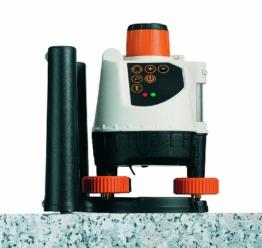 Laserliner 026.04.00A Rotationslaser BeamControl-Master 120 Set mit Stativ und Messlatte -