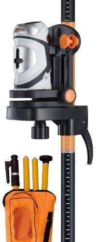 Laserliner 081.121A Kreuzlinien-Laser SuperCross-Laser Set mit Stativ -