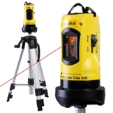 Rotationslaser Baulaser Kreuzlinienlaser Kreuzlaser Querlinienlaser Laser mit Stativ -