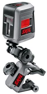 Skil Kreuz-Linienlaser LL0511, Arbeitsbereich 10 m, Neigungsfunktion, Nivelliergenauigkeit +/- 0,5 mm, F0150511AA -