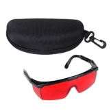 Sonline Augenschutzbrillen Rot Laser Schutzbrille -