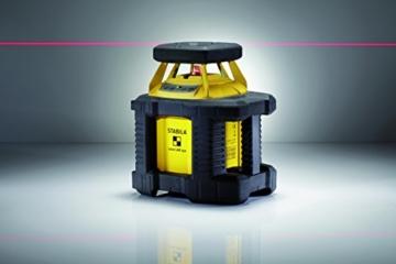 Stabila 17106 Rotation-Laser Lar 250 Komplett Set mit Receiver REC 300 Digit -
