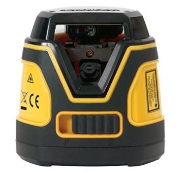 Stanley Linienlaser SSL 360 Grad, selbstnivellierendem 1-Knopf-Handhabung, Basis mit Feinstellschraube, STHT1-77137 -