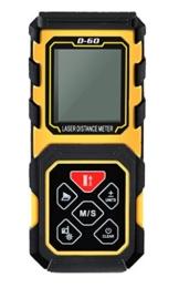 amyamy Laser-Entfernungsmesser/Meter mit 196Feet/60m Reihe und Messen Diastimeter -