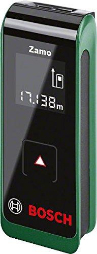 Bosch DIY Laser Entfernungsmesser Zamo 2. Generation, 2 x AAA Batterien, Karton (Arbeitsbereich 0,15 - 20 m, +/-3 mm Messgenauigkeit) -