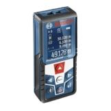 Bosch Professional GLM 50 C Laser-Entfernungsmesser (Messbereich 0,05-50 m, Bluetooth Schnittstelle für Apps (iOS, Android), drehbares Farb-Display, Schutztasche, IP54 Staub- und Spritzwasser-Schutz) 0601072C00 -