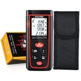 Entfernungsmesser RISEPRO® Professional RZ-S40 Distanzmessgerät Hohe Präzision (Messbereich: 0,05 - 40Meter/ ± 2mm (± 0,08 Zoll)mit LCDHintergrundbeleuchtung) -