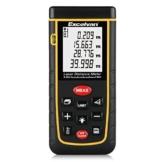 Excelvan® Laser-Entfernungsmesser 0,05-40 m Messbereich +/- 2mm Messgenauigkeit Laser Distanzmessgerät -