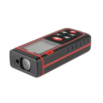 Floureon Laser-Entfernungsmesser 0.05 bis 40m Distanzmessgerät Hohe Präzision -