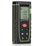 GrandBeing®Tragbare Laser entfernungsmesser , distanzmesser einfach und schnell messen, mit zwei AAA-Batterien, Handschlaufe und Fall tragen (Grün, 40m) -