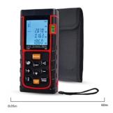 ieGeek Profi Laser Entfernungsmesser 60M Distanzmessgerät Range Finder Entfernung messen Fläche Volumen mit LCD Hintergrundbeleuchtung Pythagoreischem Modus -