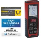 Kaleas Profi-Laser-Entfernungsmesser LDM 500-60 für Entfernung bis 60m [Genauigkeit ±1.5mm] (34056) -
