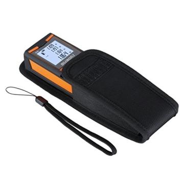 Suaoki S9 0.2-60m Laser-Entfernungsmesser , +/- 1.5mm Messgenauigkeit, Messung von Distanz, Flächen, Volumen, Laser Distanzmessgerät mit LCD Display Entfernungsmessergerät -