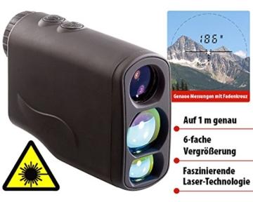 Zavarius Laser-Entfernungs- und Geschwindigkeitsmesser, 6x21 -